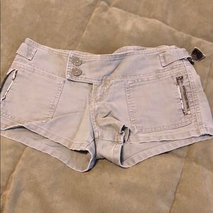 Green Abercrombie and Fitch shorts